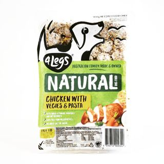 4Legs Dog ChickPastaVeg900g(8)