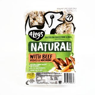 4Legs Dog Beef Mac Veg 900g(8)