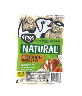 4Legs Dog ChickRiceVeg 900g(8)