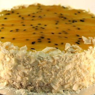 Coconut Mango Torte