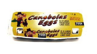 Eggs Canobolas 700g (15)