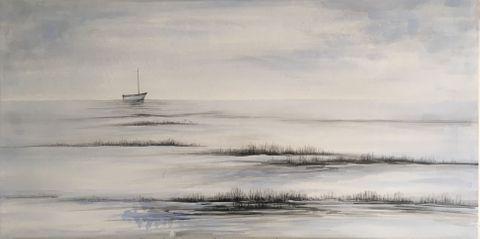 Plain Sailing Oil Painting 60x120