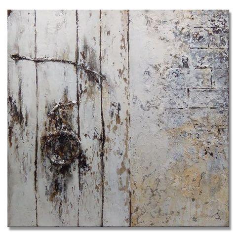 Mystery Door Oil Painting 80X80