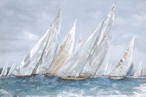 The Race Oil Painting 60x90