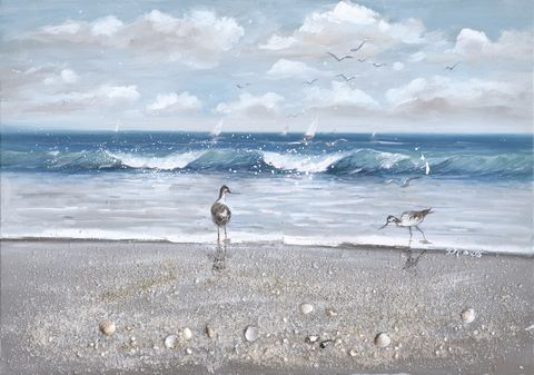 Sea Treasures Oil Painting 70x100