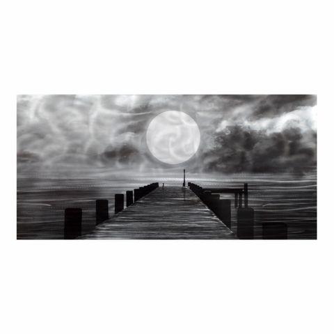 Moonshine Pier Aluminium Wall Art 60X120