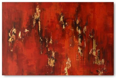 Fire Storm Oil Painting 80X120