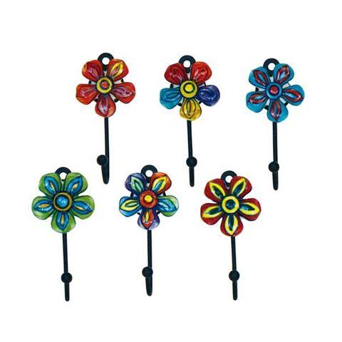 Hook Multi Flower Sml Set of 12