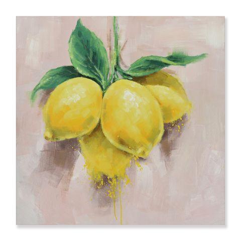 Mediterranean Lemon Oil Painting 60x60