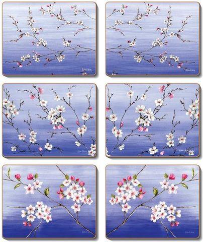 Coasters Blossoms 12x10 cm