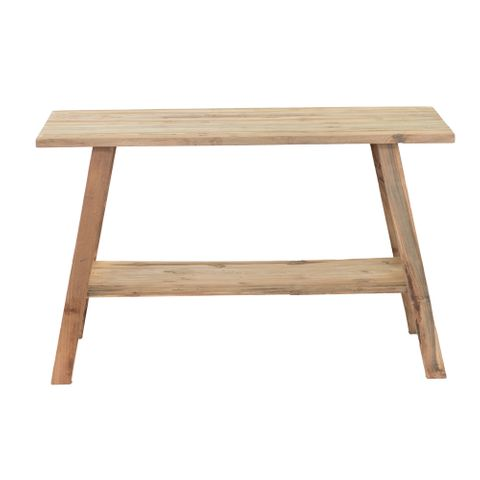 Recycled Teak Console Table - Natural
