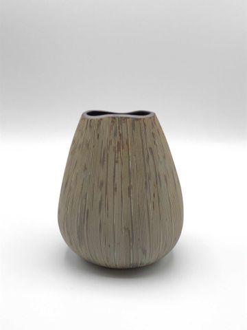 Vase Potter Sml Brown