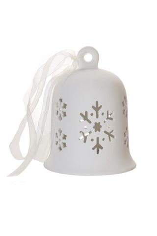 Porcelain Bell Shaped Lantern Snowflake