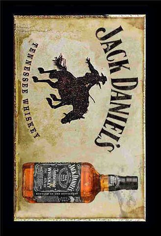 Tin Sign 30x20 Tennessee Whiskey