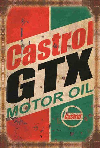 Tin Sign 30x20 GTX