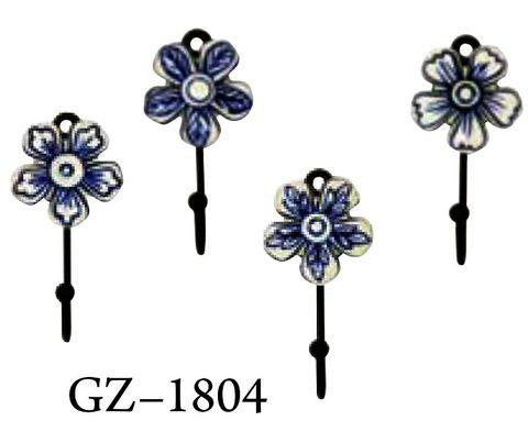 Hook Blue Flower Sml Set of 12