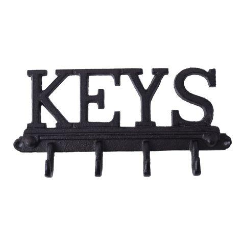 Keys Cast Iron Hook