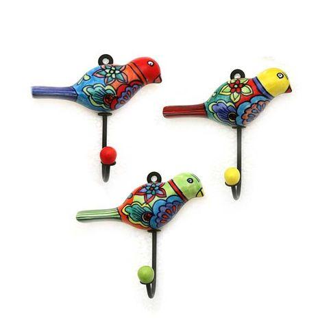 Hook Parrot 13Cm Set of 12