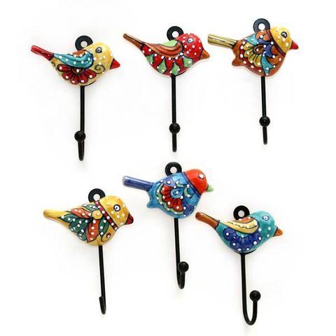 Hook Speckled Bird Set of 12