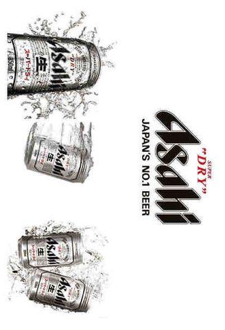 Tin Sign 30x20 Asahi