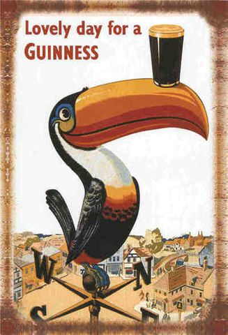 Tin Sign 30x20 Guinness