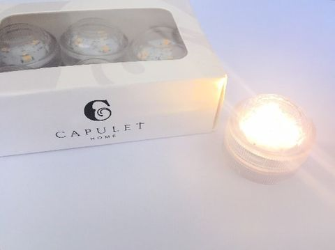 6 Pack LED Battery Tealights - Warm White