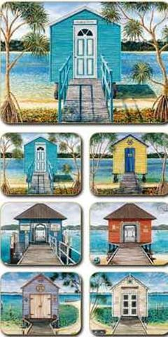 Placemats Boathouses 36.5x27.5cm