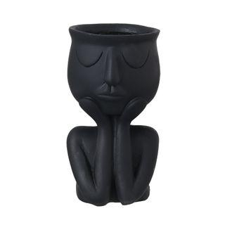 Dreamy Head Planter - Black