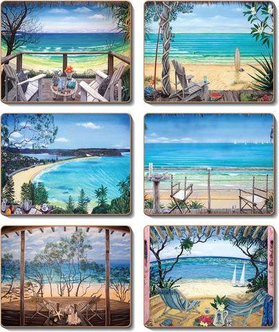 Coasters Coastal Ver 12x10 cm