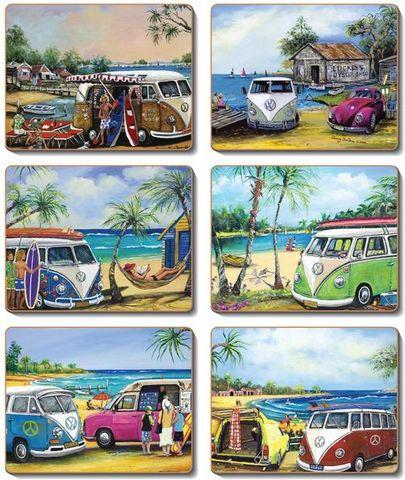 Coasters Kombis 12x10 cm
