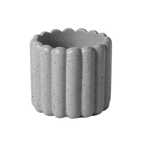 Tiramisu Planter Earl Grey 16.5x16.5x15.5