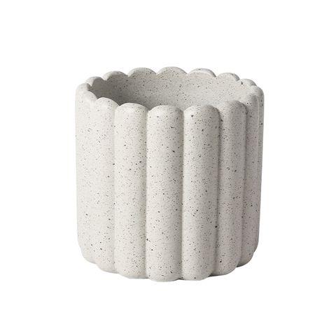 Tiramisu Planter Cream 13.5x13.5x12.5