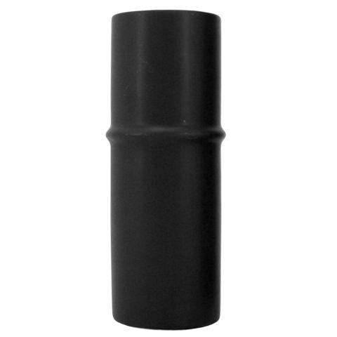 Ceramic Bamboo Vase Black 6x17