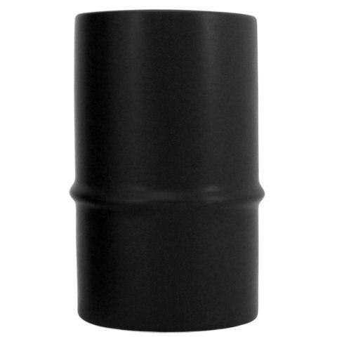 Ceramic Bamboo Vase Black 8x13