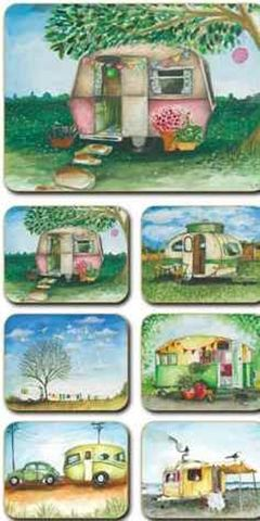 Placemats Vintage Caravan 36.5x27.5 cm