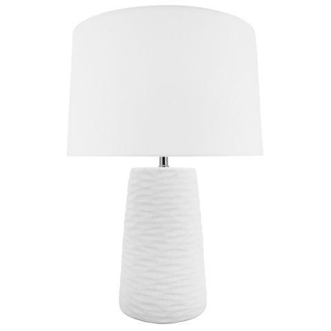 Kima Lamp B&S White 23x62 cm