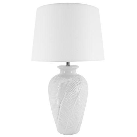 Alina Lamp B&S White 35x60 cm