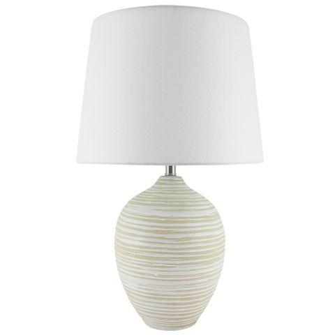 Luken Lamp B&S Natural 33x53 cm