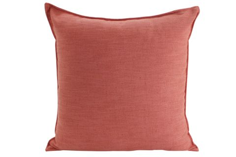 Linen Rust Cushion 55x55cm