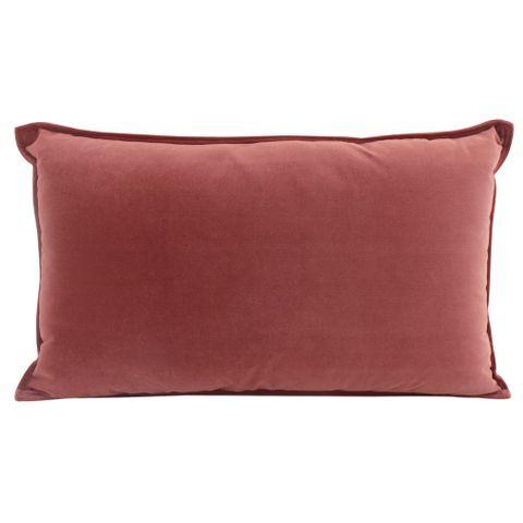 Velvet Cushion Mulberry 30x50cm