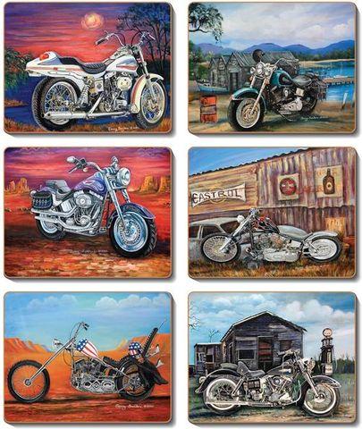 Coasters American Classics 12x10 cm
