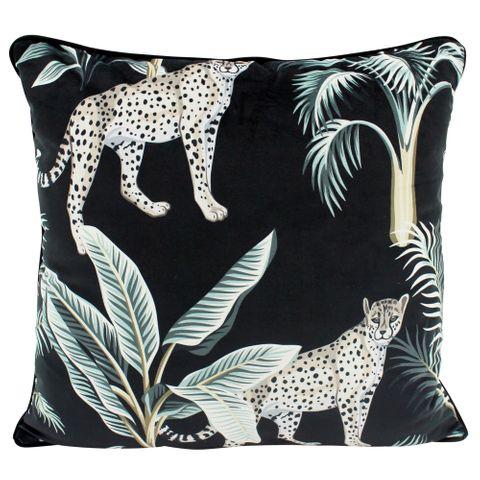 Midnight Duo Velvet Cushion 50x50cm