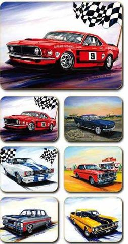 Placemats Ford Muscle 36.5x27.5 cm