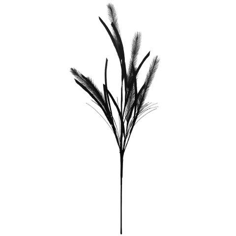 Feathered Fern Black 79cm