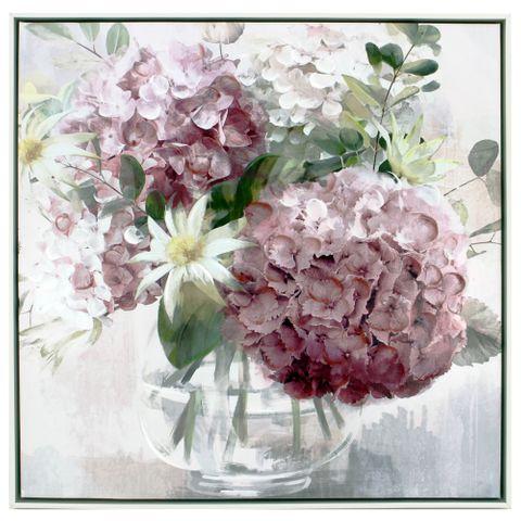 Daisy Posy Painting 63x63 cm