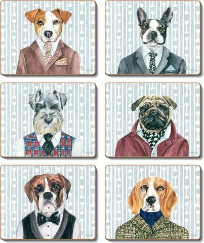Placemats Dogs Dinner 36.5x27.5 cm