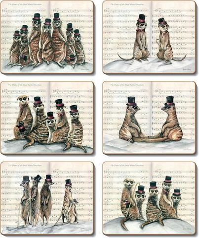 Placemats Mad Hattered Meerkats 36.5x27.5 cm
