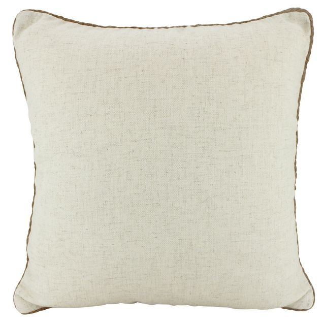 Rope Trimed Linen Cushions