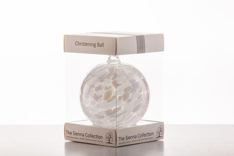 Christening Ball10Cm White