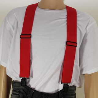 Construction Braces 2inx48in Red